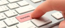 De online vertaal machine